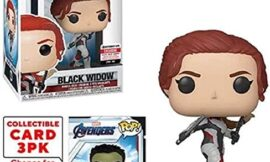 Funko Pop! Marvel Avengers: Endgame Black Widow Vinyl Figure with Collector Cards – Entertainment Earth Exclusive