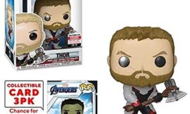 Funko Pop! Marvel : Avengers Endgame Thor Vinyl Figure with Collector Cards – Entertainment Earth Exclusive