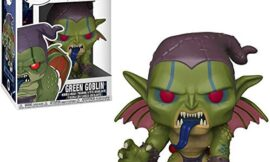 MPreview POP! Marvel: Spider-Man Into The Spider-Verse #408 Green Goblin 10 tall Exclusive Bobble-Head Vinyl Figure