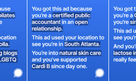 Signal tried to use Facebook's targeted advertising data against it