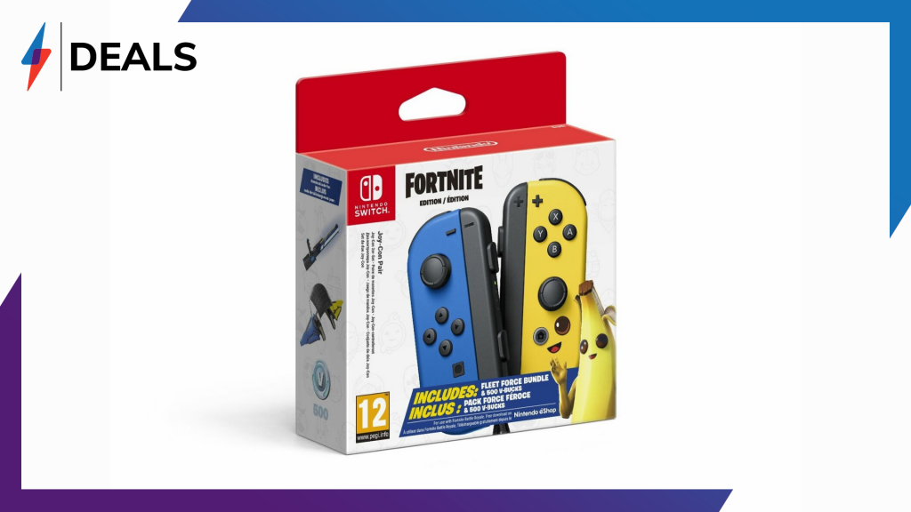 These special edition Fortnite Joy-Cons just got a massive price cut