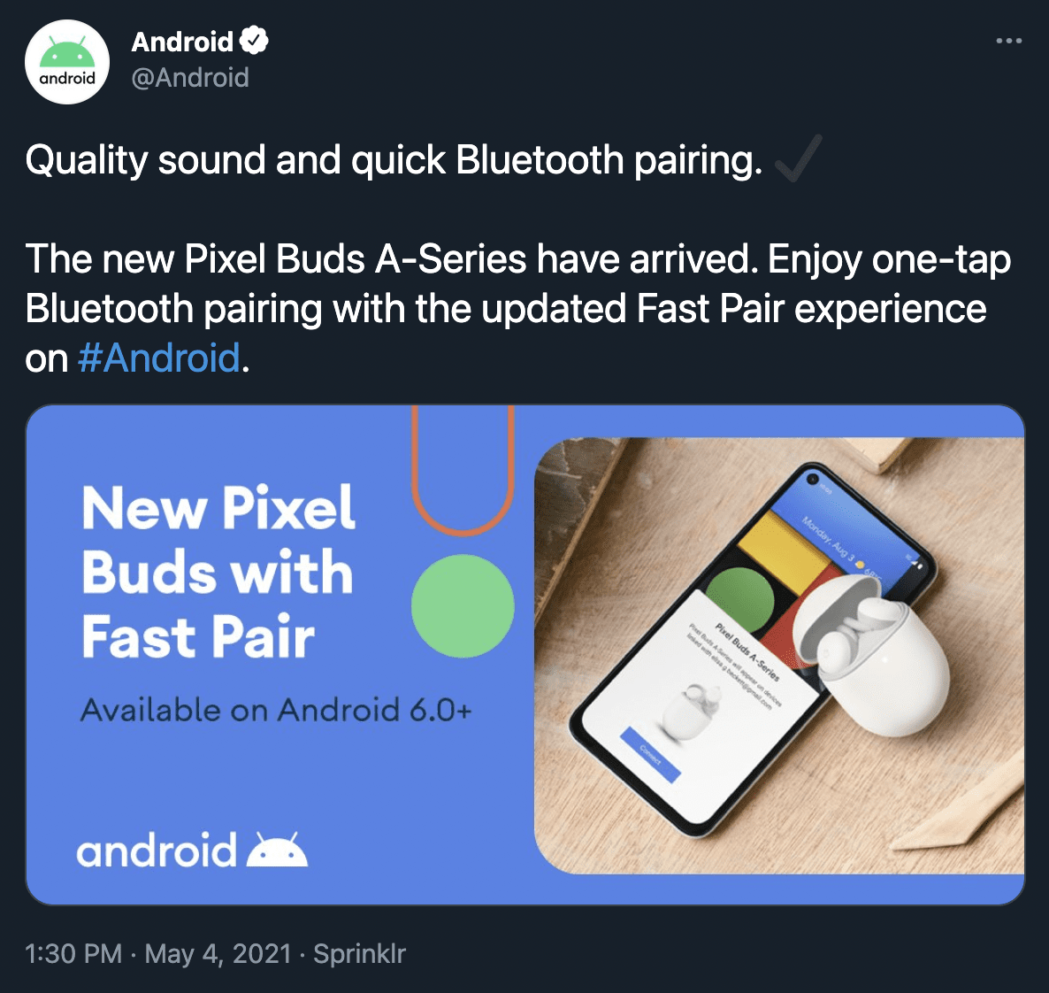 Google just leaked its new Pixel Buds A-Series… again