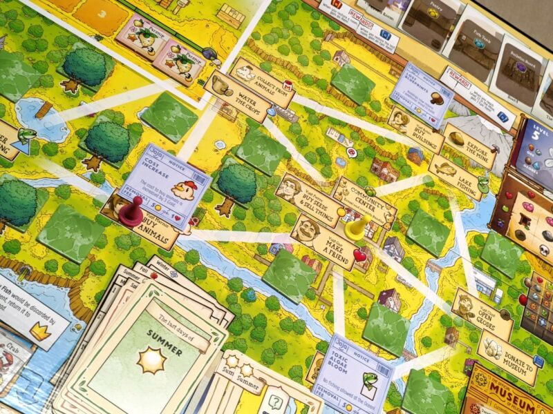 Read more about the article Stardew Valley: The Board Game—a loving production but a mixed review from Grandpa