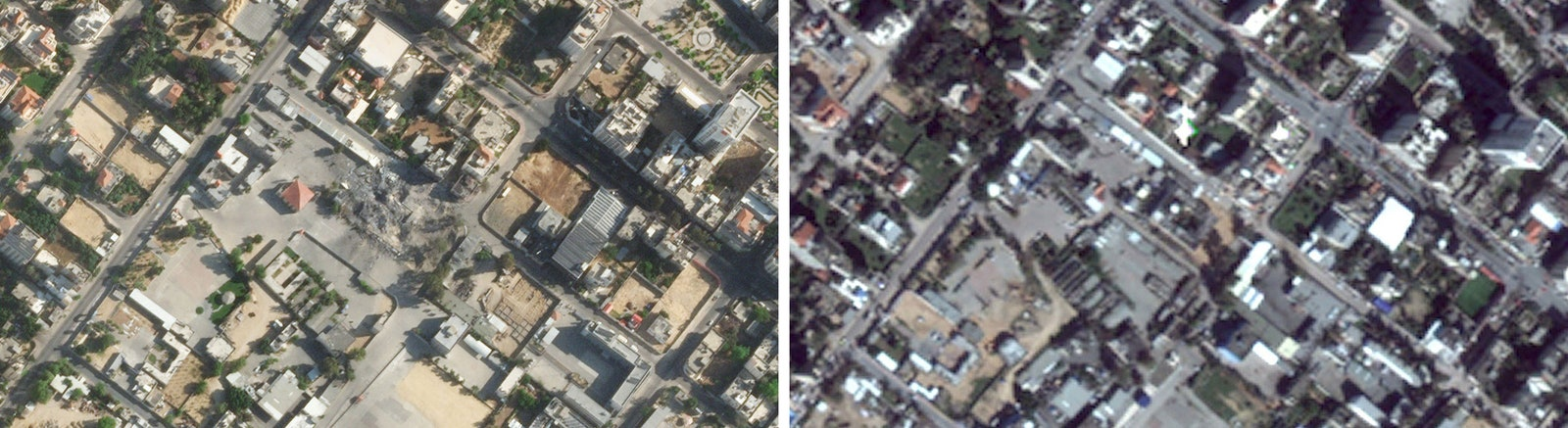 Read more about the article Blurry Satellite Images of Palestine and Israel Make Rebuilding Harder
