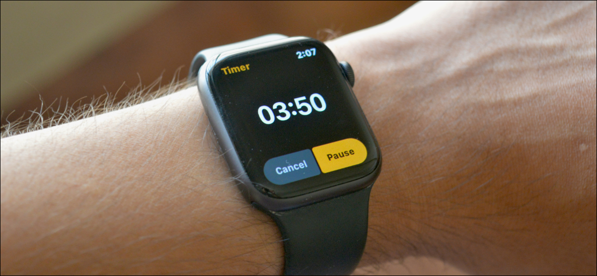 How to Set a Custom Timer on Apple Watch