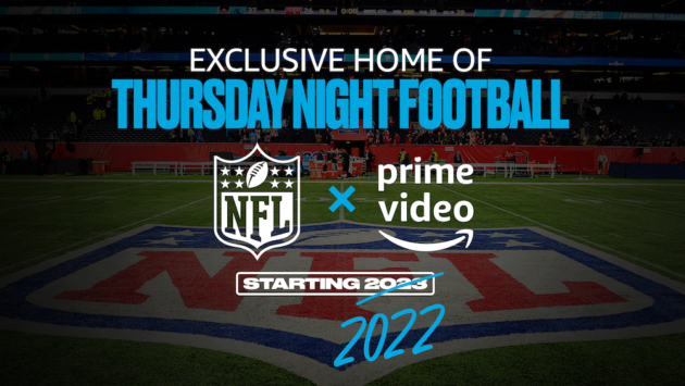 Amazon and NFL deal for 'Thursday Night Football' on Prime Video will begin year early, run 11 seasons