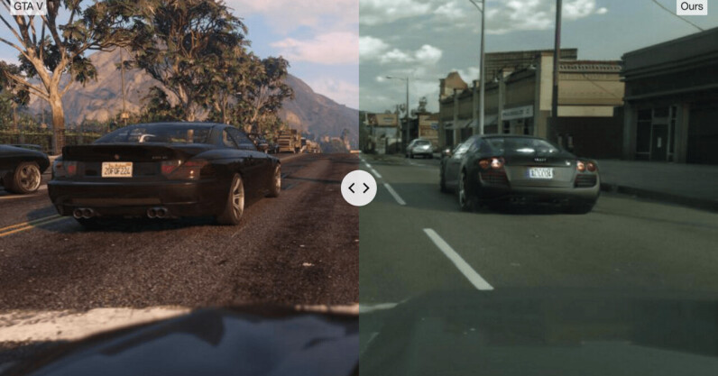Read more about the article Watch GTA V get an AI-powered photorealistic makeover