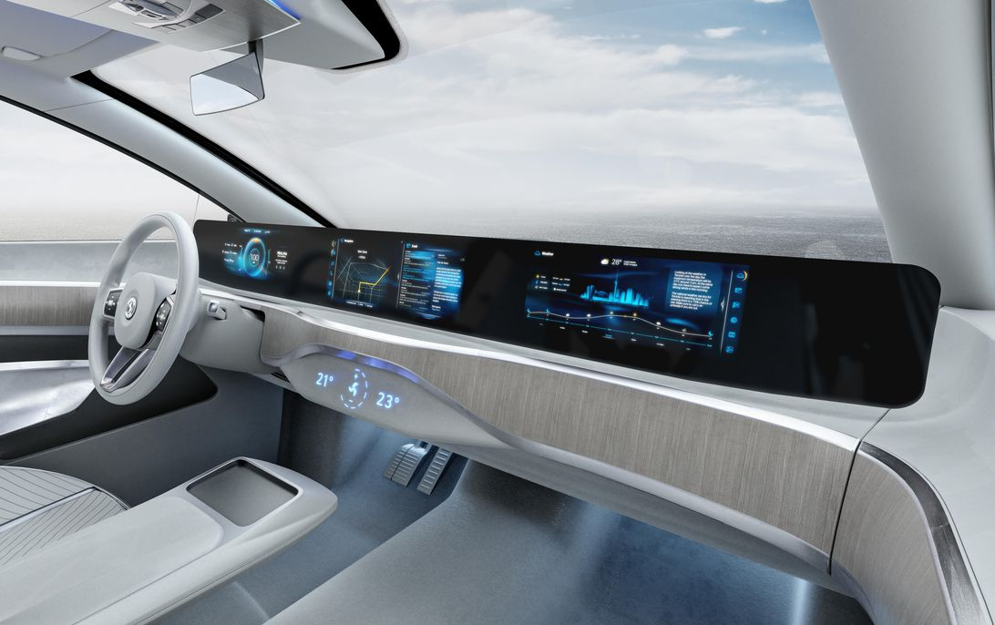 Read more about the article Continental's massive pillar-to-pillar electronic dashboard will enter production