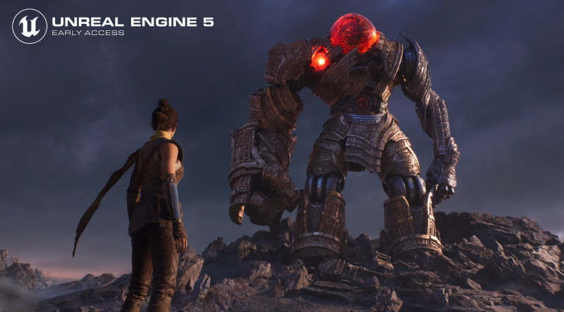 Epic Games launches Unreal Engine 5 early access, shows massive 3D scenes