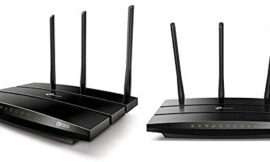 TP-Link AC1900 Smart WiFi Router – Compatible with Alexa (Archer A9), Black & AC1750 Smart WiFi Router – Dual Band Gigabit Wireless Internet Router for Home, Compatible with Alexa (Archer A7)