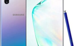 Samsung Galaxy Note 10+ Plus N975 6.8″ Android 256GB Smartphone (Renewed) (Silver, T-Mobile)