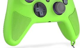 Gepuli Amazon Luna Controller case, Silicone Grip Cover, Provides More Precise Movement or Aiming to Enhance The Gaming Experience. (Luminous Green)