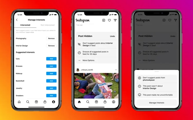 Instagram tests placing 'suggested posts' throughout your feed