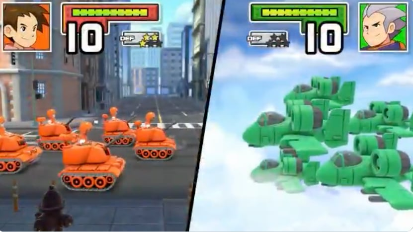 Advance Wars 1+2 remake bombing onto Switch this December