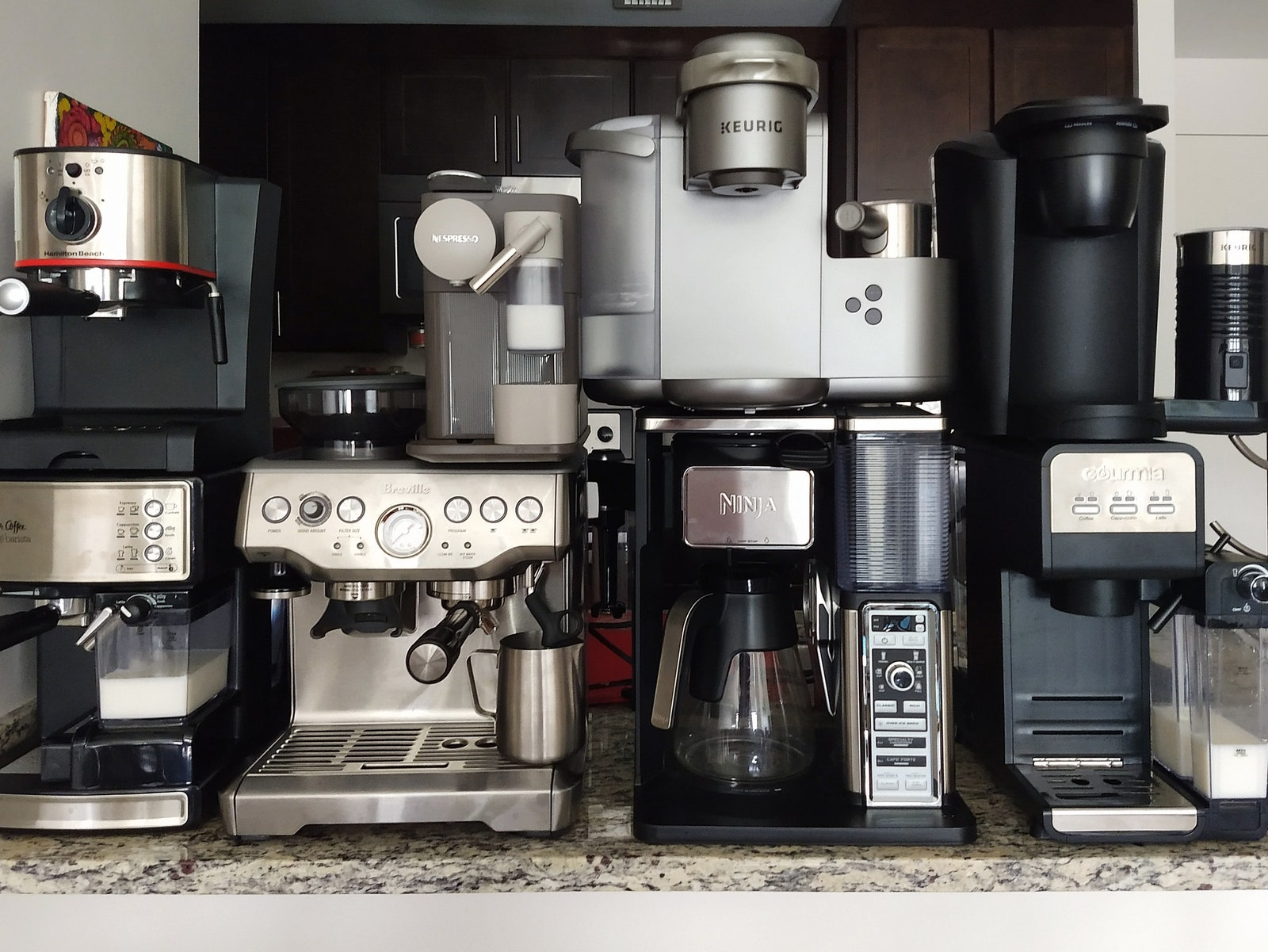 Read more about the article 7 Best Latte and Cappuccino Machines: Breville, Mr. Coffee, and More