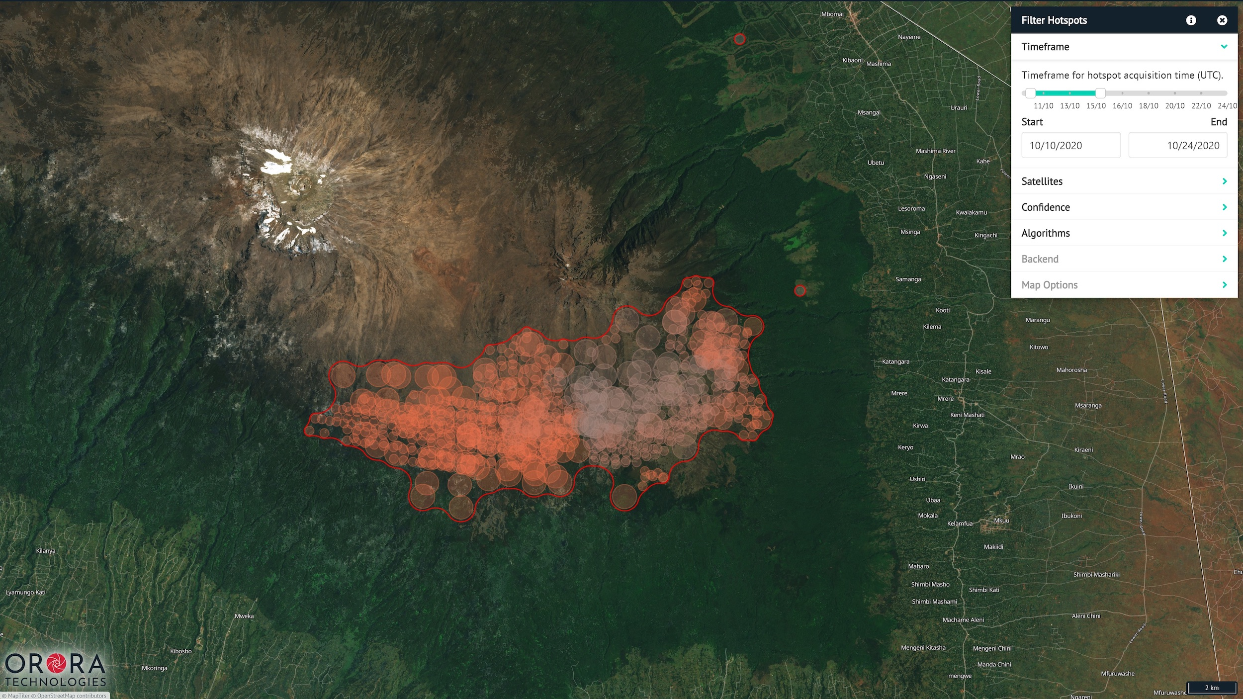 OroraTech's space-based early wildfire warnings spark $7M investment – TechCrunch