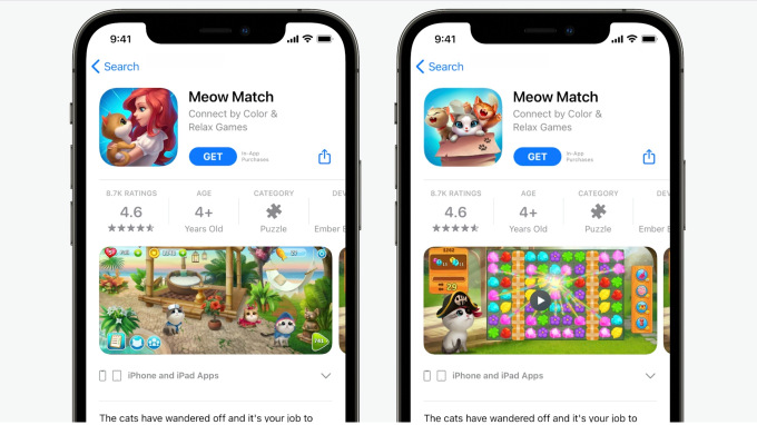 Apple to introduce A/B testing and in-app events to the App Store – TechCrunch