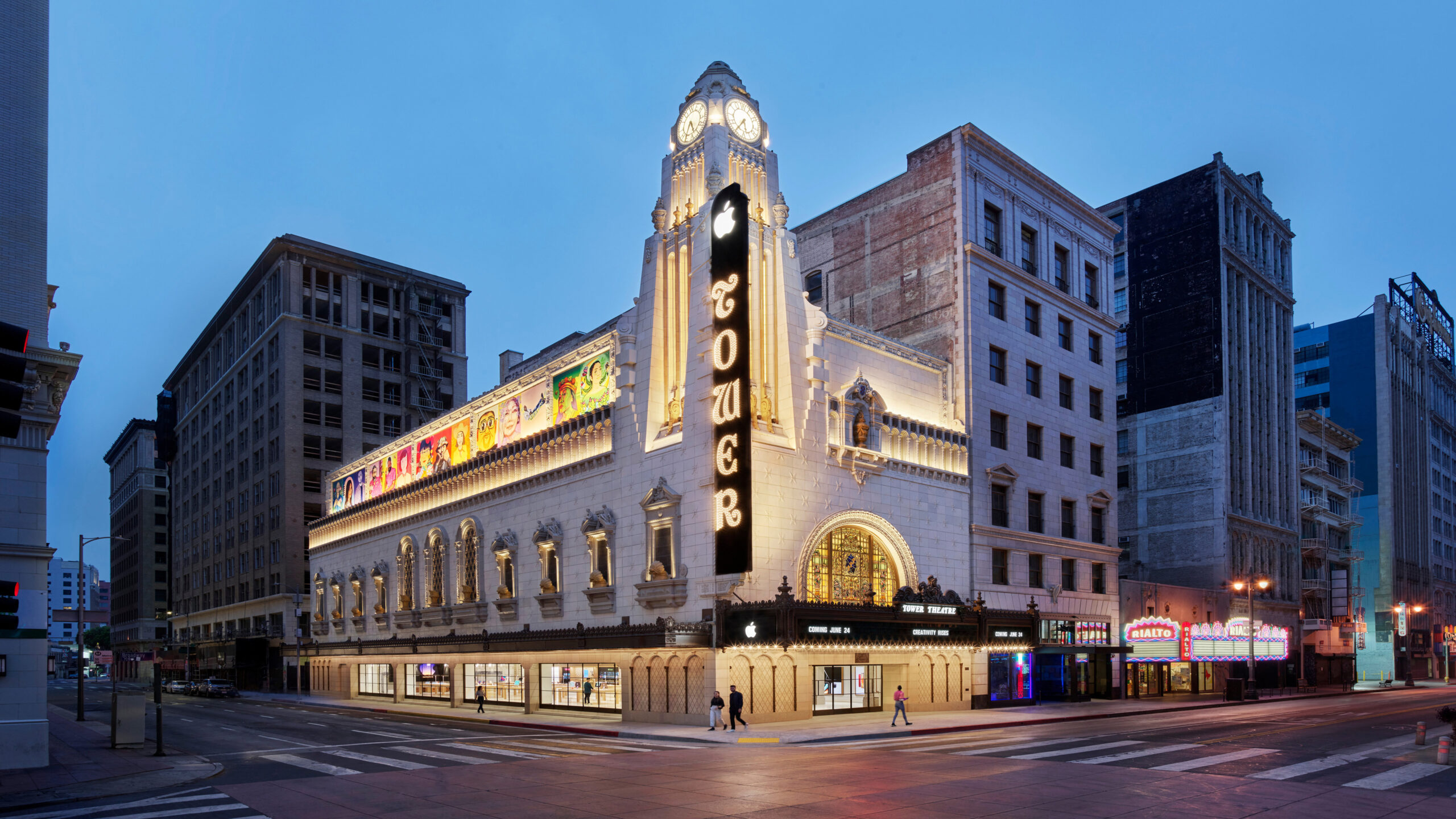 Apple is opening a store in downtown LA's nearly 100-year-old Tower Theatre – TechCrunch