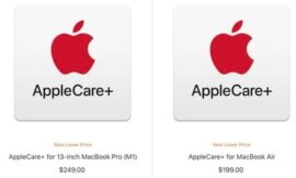 Apple Lowers Prices of AppleCare+ Plans for M1 MacBook Air and MacBook Pro