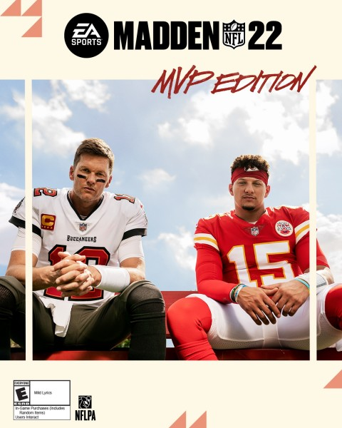 Read more about the article Tom Brady And Patrick Mahomes Are Your Madden NFL 22 Cover Athletes