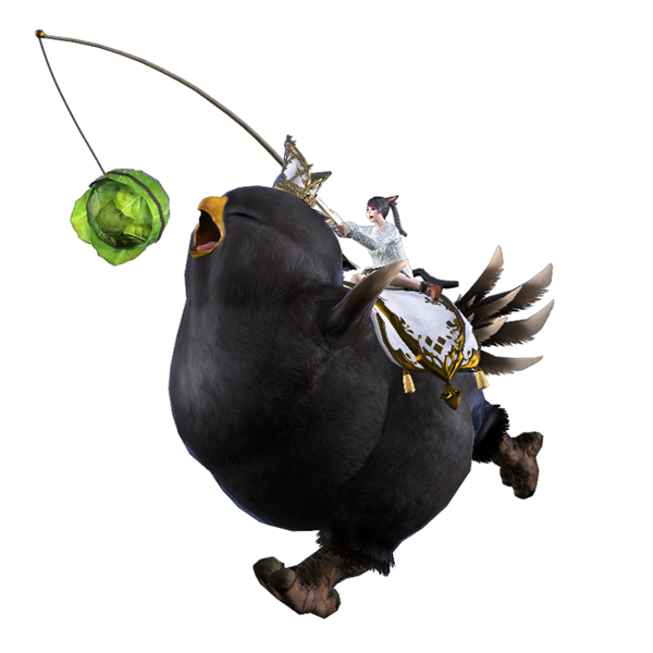 Read more about the article Final Fantasy XIV Online And Twitch Team Up For Free Rewards, Including The 'Fat Black Chocobo' Mount