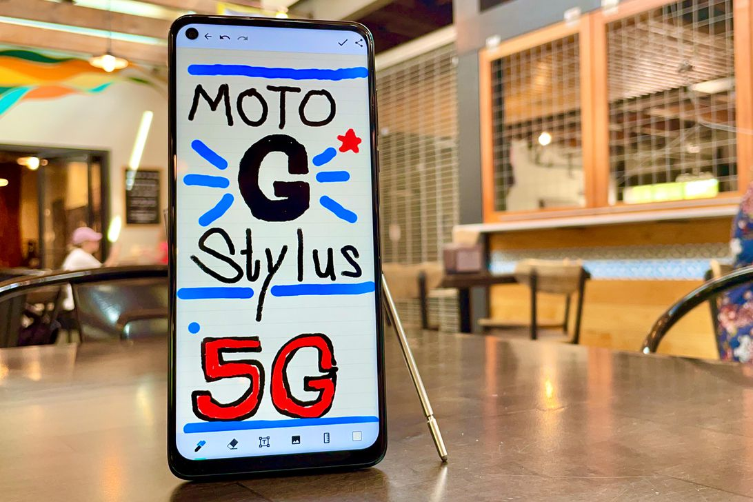 The $400 Moto G Stylus 5G is affordable and has a big battery