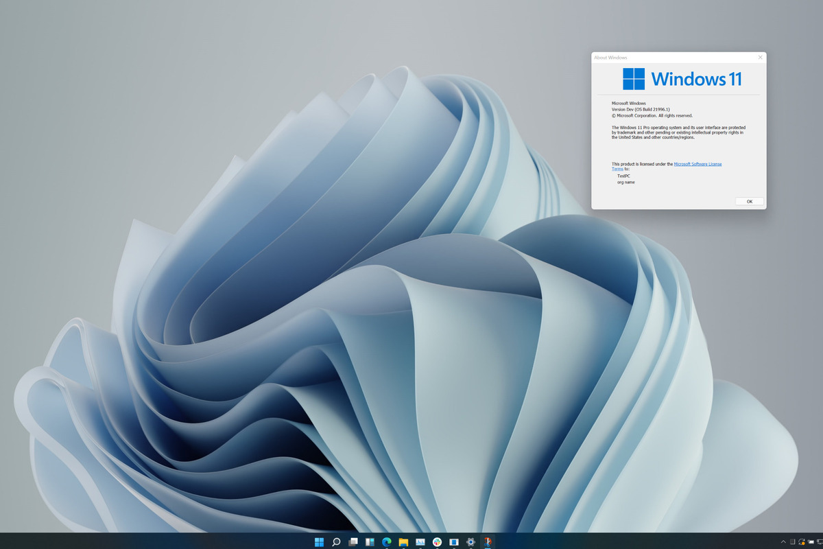 The Windows 11 leak may be an early, incomplete build