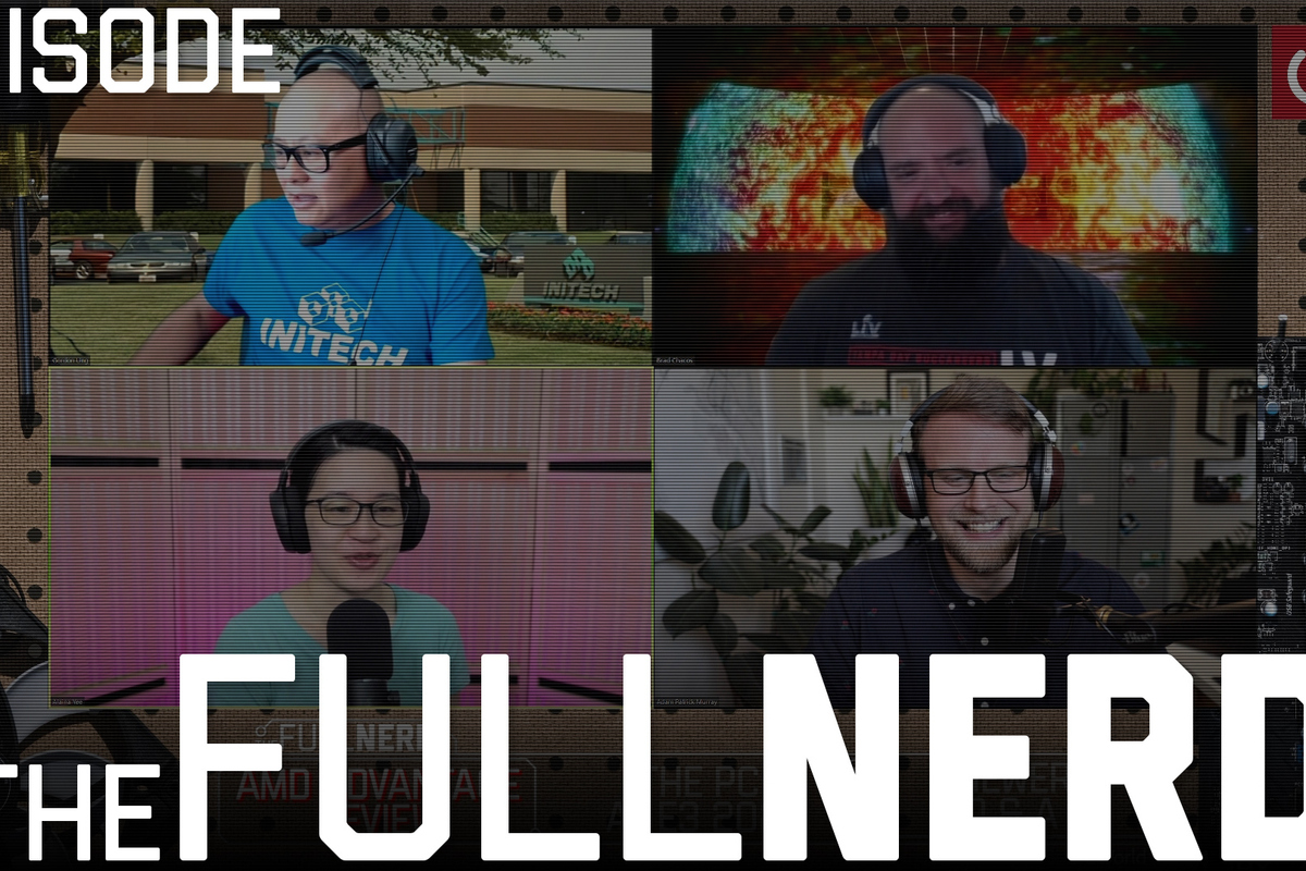 Read more about the article The Full Nerd: ep. 181: AMD Advantage Laptops and E3!