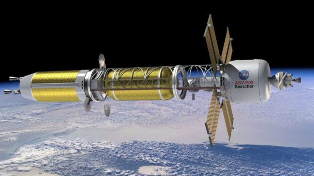 Read more about the article USNC-Tech, Blue Origin win support for nuclear propulsion plans