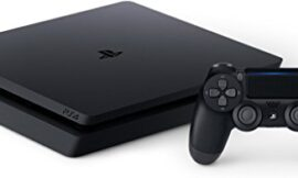 SONY PlayStation 4 Slim 1TB Console, Light & Slim PS4 System, 1TB Hard Drive, All the Greatest Games, TV, Music & More