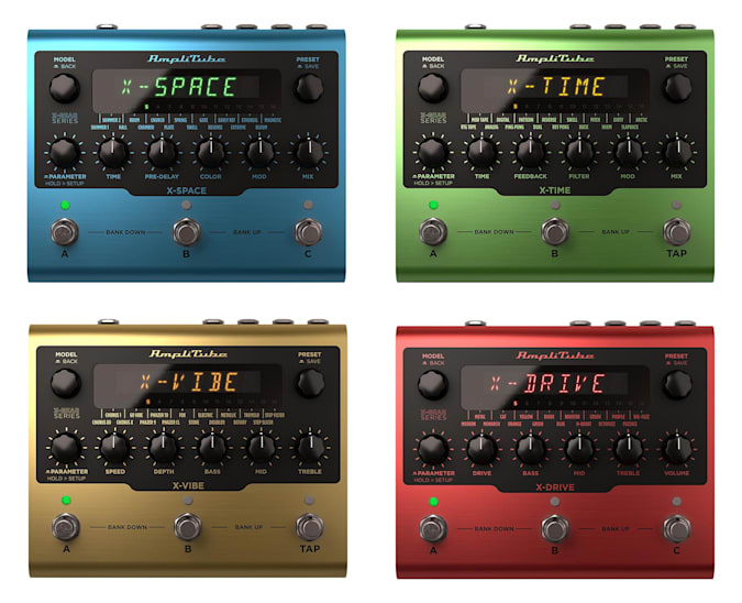 Read more about the article IK Multimedia debuts guitar effects pedals based on its AmpliTube software