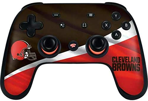 Read more about the article Skinit Decal Gaming Skin Compatible with Google Stadia Controller – Officially Licensed NFL Cleveland Browns Design