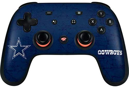 Read more about the article Skinit Decal Gaming Skin Compatible with Google Stadia Controller – Officially Licensed NFL Dallas Cowboys Distressed Design