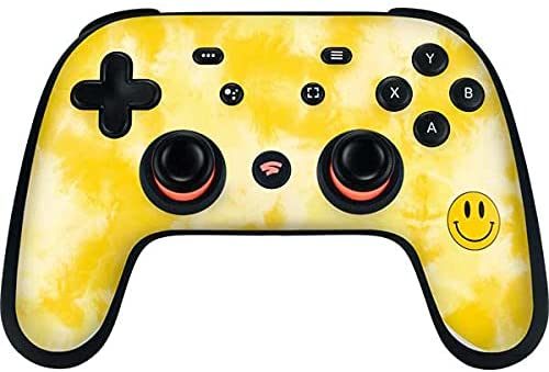 Read more about the article Skinit Decal Gaming Skin Compatible with Google Stadia Controller – Officially Licensed Originally Designed Yellow Tie Die Design
