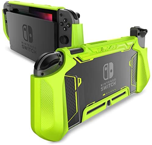 Read more about the article Mumba Dockable Case for Nintendo Switch, [Blade Series] TPU Grip Protective Cover Case Compatible with Nintendo Switch Console and Joy-Con Controller (Green)