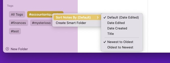 Read more about the article How to use Apple Notes tags in macOS Monterey, iOS 15