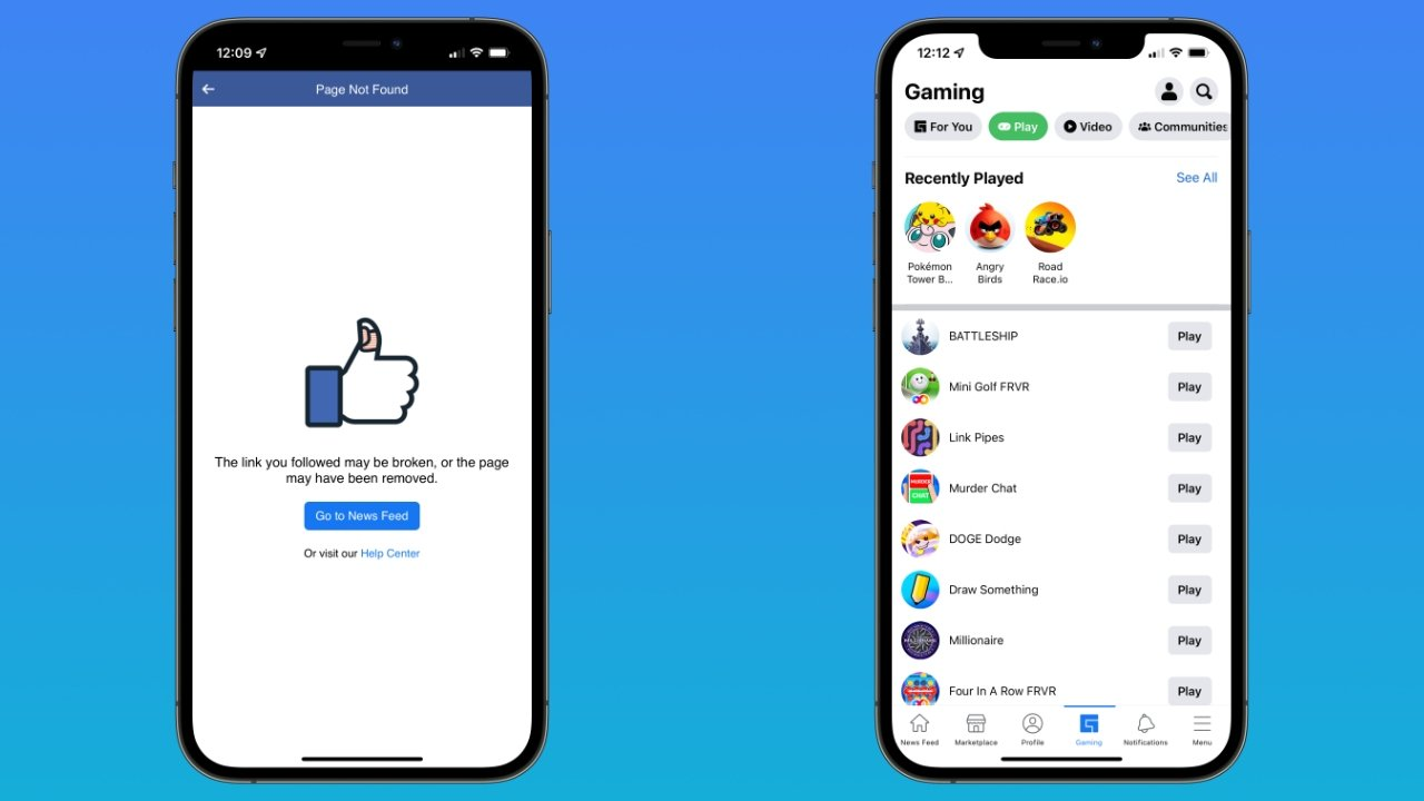 Read more about the article Facebook's cloud gaming service launches on iOS both in-app and on the web