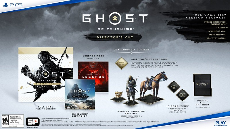 Read more about the article Ghost Of Tsushima Director's Cut For PS5 Revealed With New Story Content, Photo Mode Changes, And More