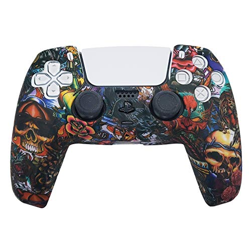 Read more about the article PS5 Silicone Gel Grip Controller Cover Skin Protector (ps5 Skull) Compatible for Sony PlayStation 5, Compatible for PlayStation 5 Accessories, Wireless Controller Protector Covers, PS5 Skin