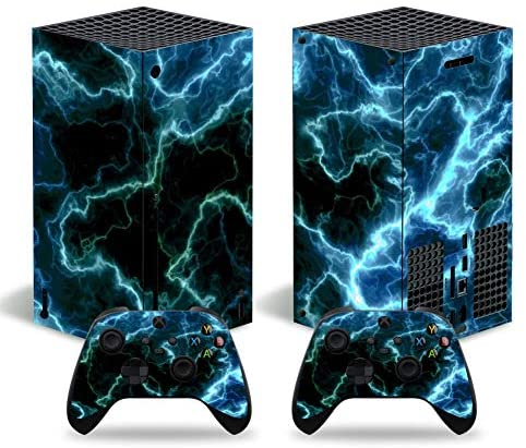 Read more about the article Xbox Series X Skins Wrap Sticker with Two Free Wireless Controller Decals, Whole Body Protective Vinyl Skin Decal Cover for Microsoft Xbox Series X Console – Galaxy Rift