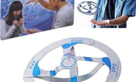 Magical Toy UFO Floating Flying Disk Saucer Magic Cool Trick Toy – One Item with Design and Color maybe vary by YGS
