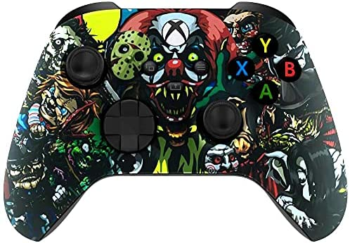 Read more about the article Wordene Series X S Modded Custom Rapid Fire Controller for Microsoft Xbox One, Series X S, PC & Mobile – Works on All Shooter Games (Scary Party)
