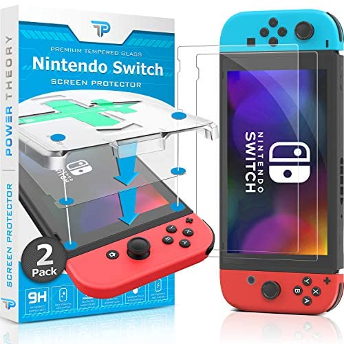 Read more about the article Power Theory Screen Protector for Nintendo Switch [2-Pack] with Easy Install Kit [Premium Tempered Glass for Switch Console]