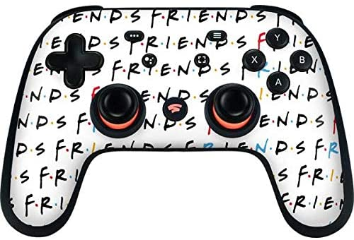 Read more about the article Skinit Decal Gaming Skin Compatible with Google Stadia Controller – Officially Licensed Warner Bros Friends Pattern Design