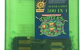 500 in 1 NES Super Games Multi Cart 72 Pin 8 bit Transparent Green Game Cartridge – LIMITED EDITION