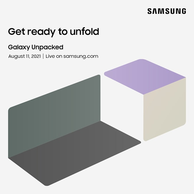 Read more about the article Samsung's next Galaxy Unpacked is happening online on August 11th