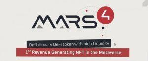 Read more about the article Mars4 Leads Innovation in Blockchain With NFT and DeFi Powered Metaverse