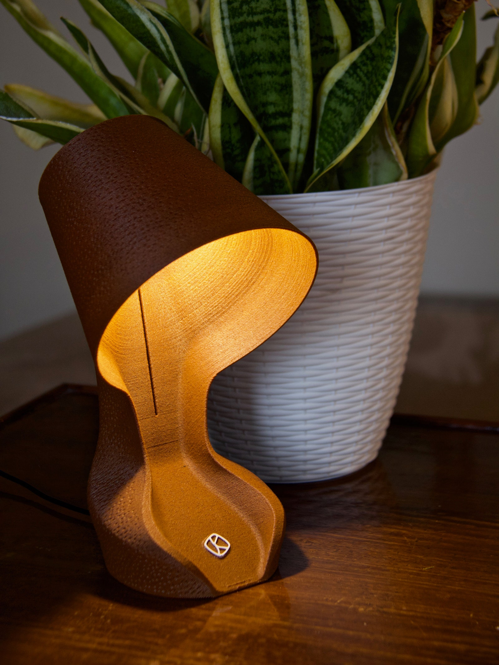 Read more about the article This Lamp Is 3D-Printed From Orange Peels