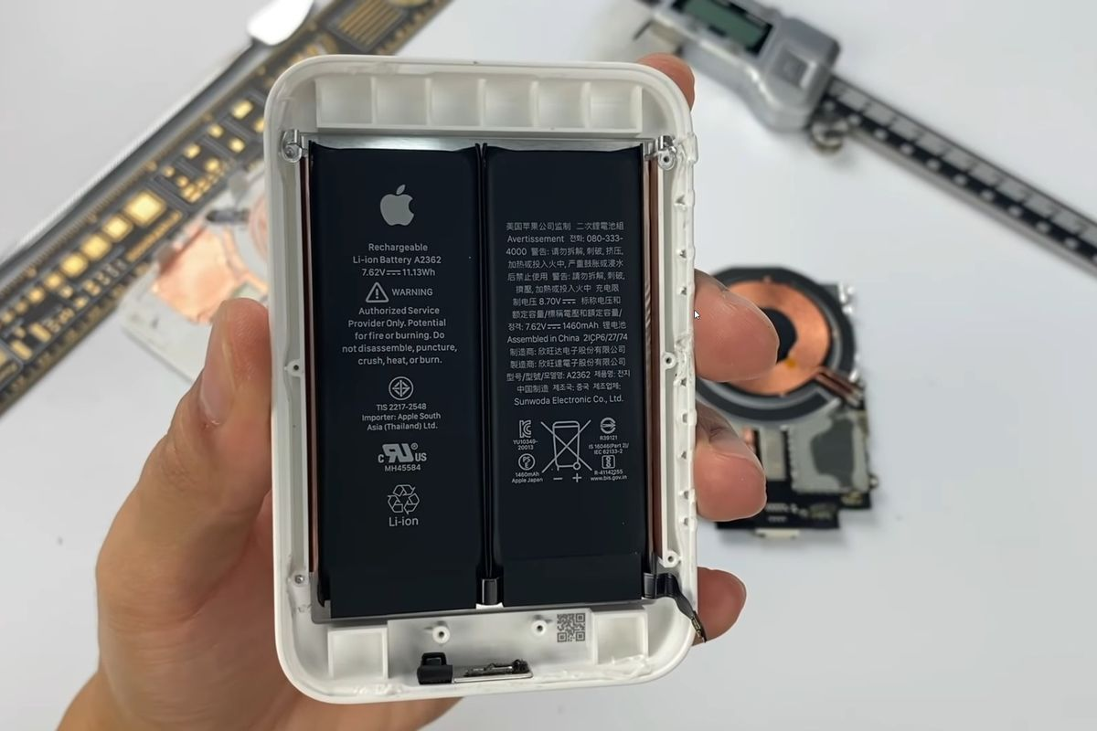 Read more about the article MagSafe Battery Pack teardown confirms dual-cell design