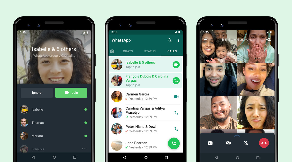 Read more about the article WhatsApp will let you join group calls after they start